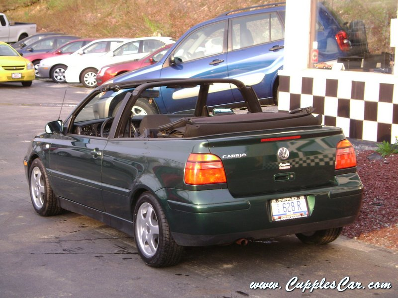 used 2001 vw cabrio convertible for sale in laconia nh. Black Bedroom Furniture Sets. Home Design Ideas