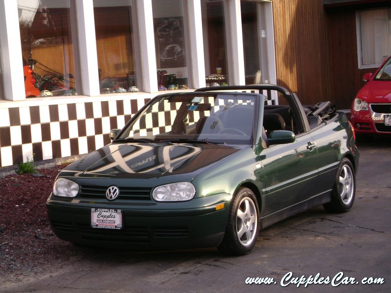 used 2001 vw cabrio convertible for sale in laconia nh cupples car company