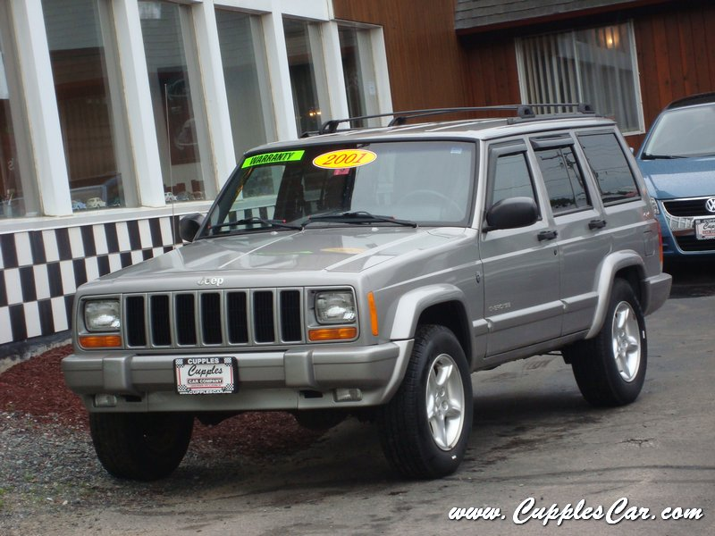 2001 jeep cherokee 60th anniversary 4x4 for sale in laconia nh. Cars Review. Best American Auto & Cars Review