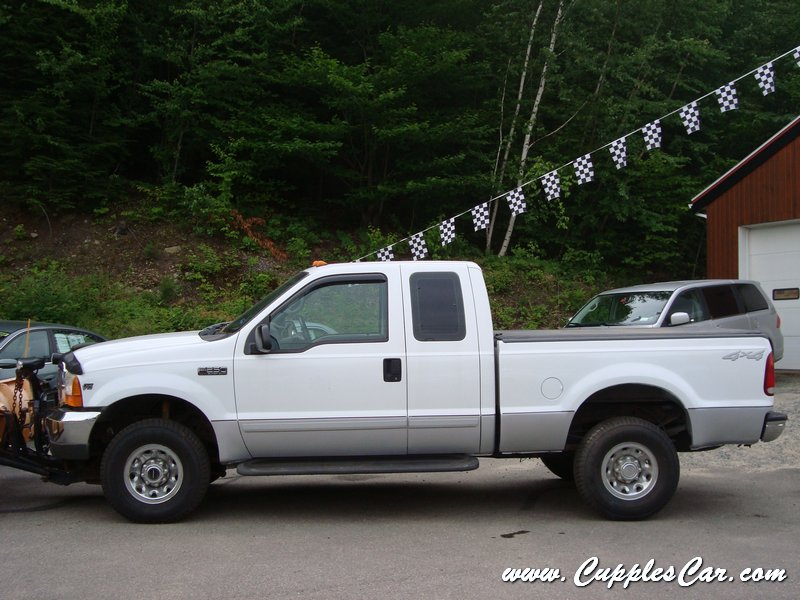 2001 Ford F250 V10 Xlt 4x4 Supercab With Plow For Sale In