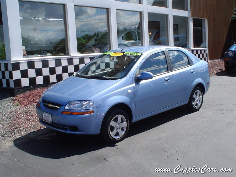 used 2005 chevy aveo for sale in laconia nh. Black Bedroom Furniture Sets. Home Design Ideas