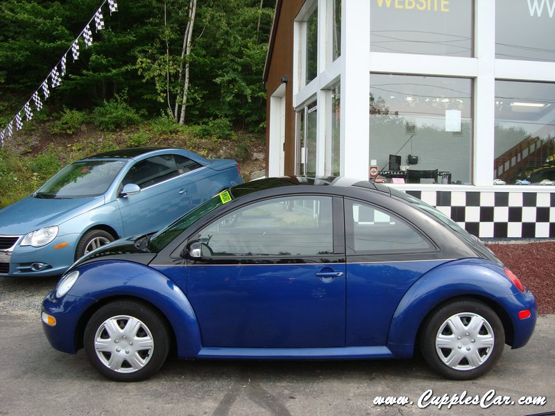 2005 New Beetle Custom Two-tone Automatic for sale in Laconia, NH - Cupples Used Cars NH