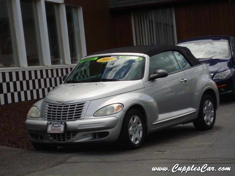 2005 pt cruiser convertible turbo for sale in laconia nh. Black Bedroom Furniture Sets. Home Design Ideas