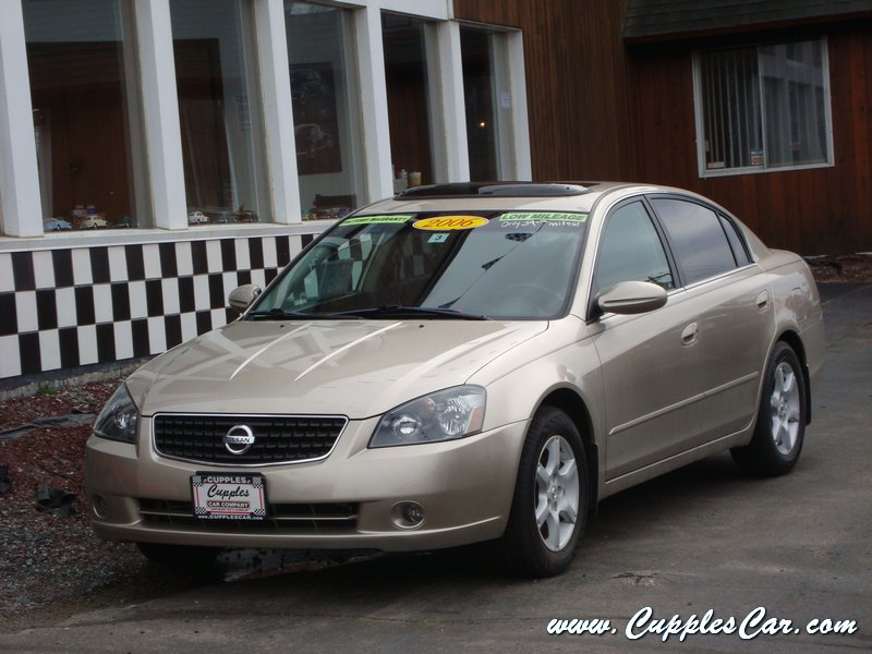 used 2006 nissan altima special edition for sale in. Black Bedroom Furniture Sets. Home Design Ideas