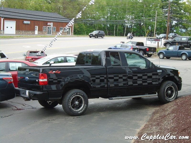 2006 ford f150 xlt 5 4 triton v8 with low miles for sale in laconia nh cupples cars used. Black Bedroom Furniture Sets. Home Design Ideas