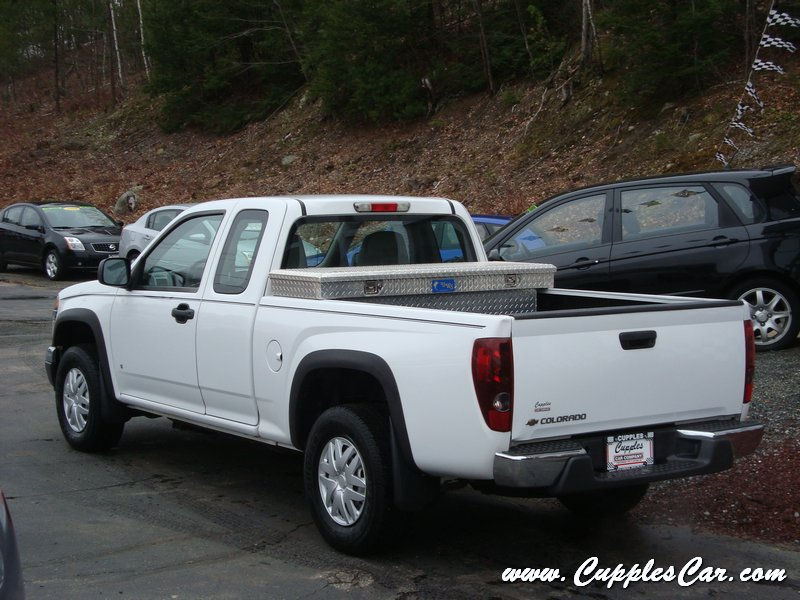 used 2007 chevrolet colorado extended cab ls 4x4 for sale. Black Bedroom Furniture Sets. Home Design Ideas