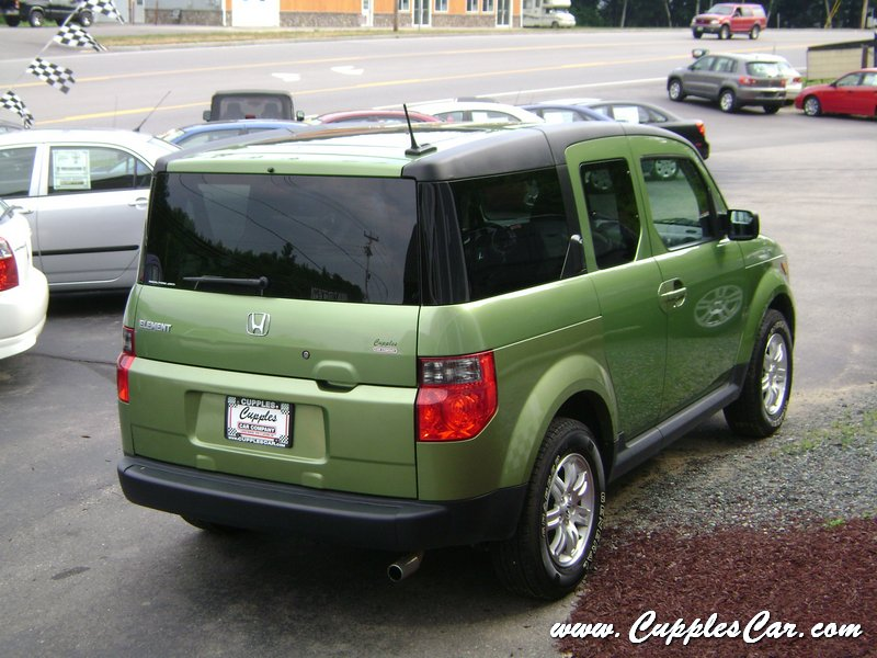 2007 honda element ex p 4wd kiwi green for sale in laconia for Green honda element