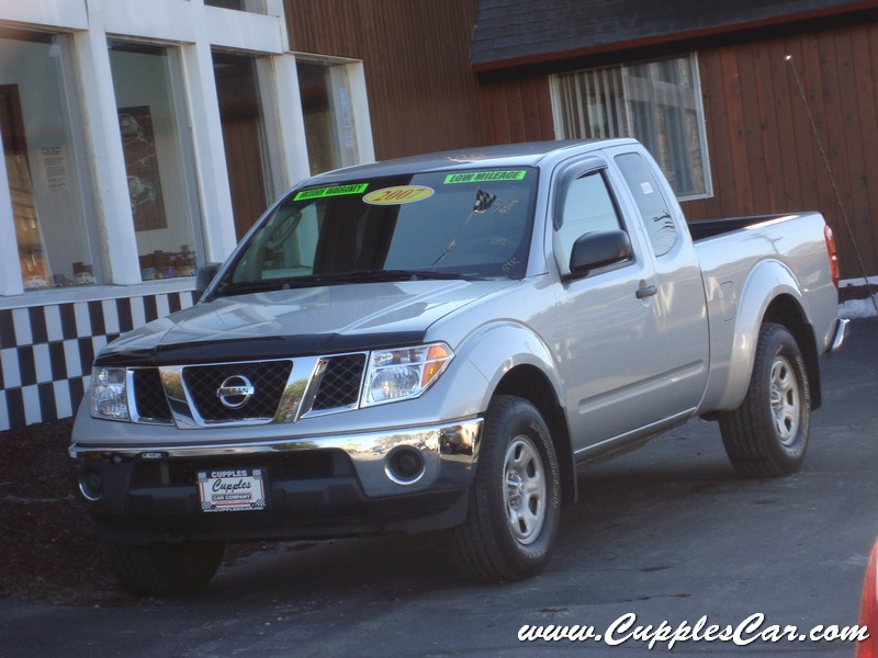2007 nissan frontier king cab se 4x4 automatic for sale in laconia nh cupples cars used cars nh. Black Bedroom Furniture Sets. Home Design Ideas