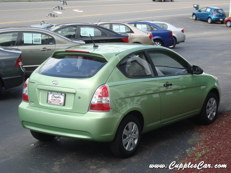 2008 Hyundai Accent GS Lime Green Automatic For Sale In
