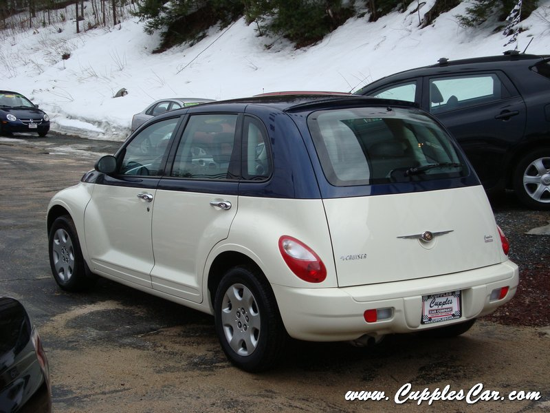 2008 Pt Cruiser Custom Two Tone Automatic For Sale In Laconia Nh Cupples Used Cars Nh
