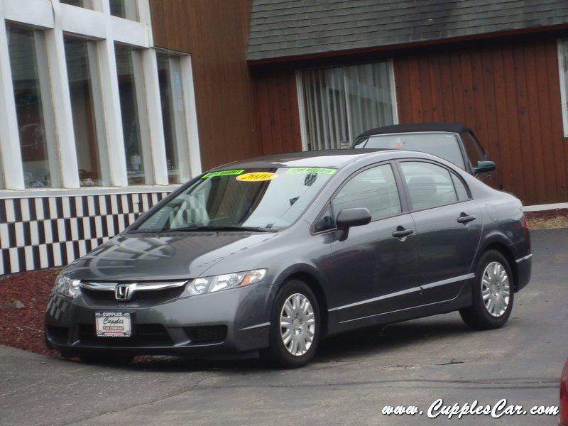 Cupples Car Company 2010 Honda Civic Dx Vp Automatic For