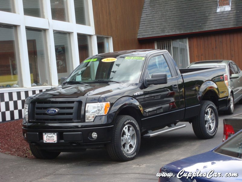 used 2010 ford f150 stx 4x4 regular cab for sale in laconia nh cupples cars used cars nh. Black Bedroom Furniture Sets. Home Design Ideas