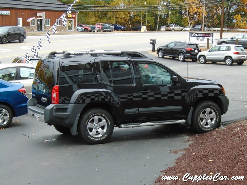 2012 nissan xterra x 4x4 automatic with low miles for sale in laconia nh cupples cars used. Black Bedroom Furniture Sets. Home Design Ideas