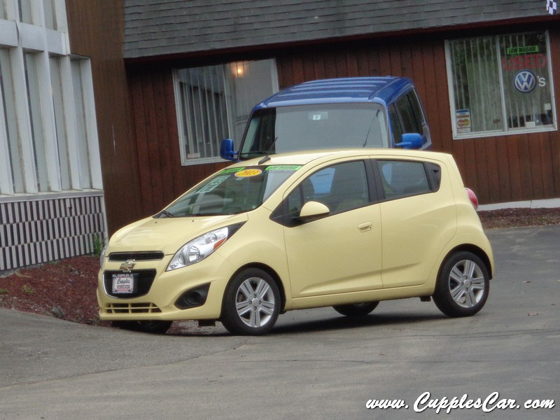 2013 Chevrolet Spark LS 5Speed Mellow Yellow for sale in Laconia